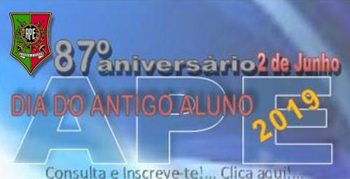 87º Aniversário da Fundação da APE – Dia do Antigo Aluno