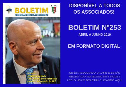 Já está disponível o Boletim 253