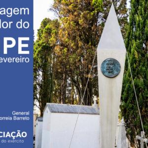 Cerimónia de Homenagem ao Fundador do IPE, General António Xavier Correia Barreto