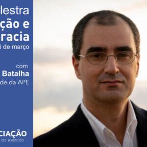 Palestra por João paulo Batalha Corrupção e Democracia