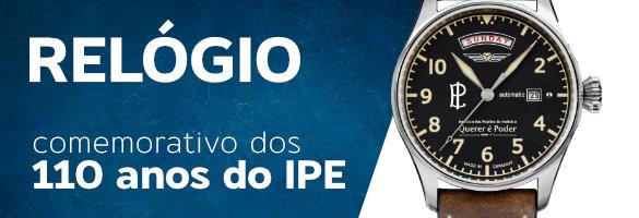 Relógio comemorativo dos 110 anos do IPE | APE