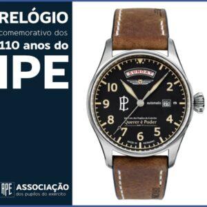 Relógio comemorativo dos 110 anos do IPE
